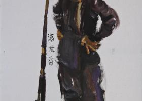 赵竹《绣像贵州-芭沙》